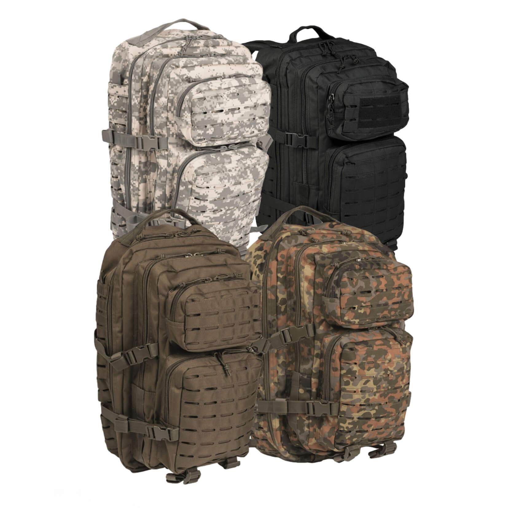 MIL-TEC US Assault Pack LG Laser Cut